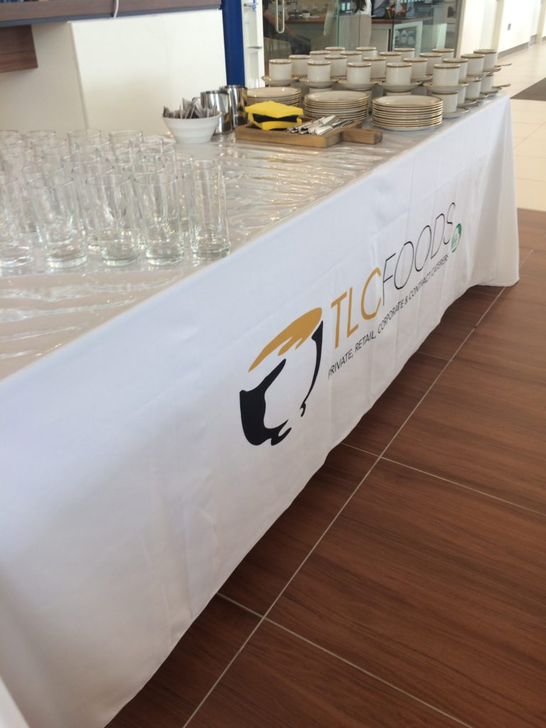 TLC Food catering table